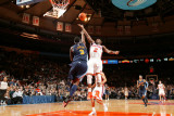 Denver Nuggets v New York Knicks: Raymond Felton and Ty Lawson Photographic Print by Nathaniel S. Butler