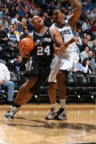 San Antonio Spurs v Minnesota Timberwolves: Richard Jefferson and Wesley Johnson Photographic Print by David Sherman