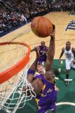 Los Angeles Lakers v Utah Jazz: Kobe Bryant Photographic Print by Melissa Majchrzak