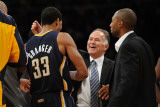 Utah Jazz v Los Angeles Clippers: Jim O' Brien and Danny Granger Photographic Print by Noah Graham