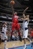 New Jersey Nets v Dallas Mavericks: Terrance Williams and Tyson Chandler Photographic Print by Glenn James