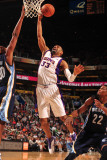 Memphis Grizzlies v Phoenix Suns: Grant Hill and ] Photographic Print by Barry Gossage