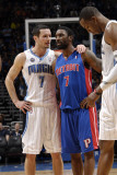 Detroit Pistons v Orlando Magic: J.J. Redick and Ben Gordon Photographic Print by Fernando Medina