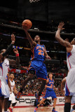 New York Knicks v Los Angeles Clippers: Toney Douglas Photographic Print by Noah Graham