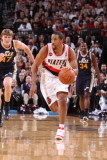 Utah Jazz v Portland Trail Blazers: Andre Miller Photographic Print by Sam Forencich