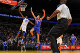 New York Knicks v Golden State Warriors: Dorell Wright and Danilo Gallinari Photographic Print by Rocky Widner