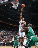 Boston Celtics v Atlanta Hawks: Al Horford Photographic Print by Scott Cunningham