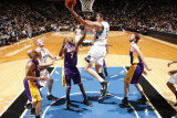 Los Angeles Lakers v Minnesota Timberwolves: Darko Milicic Photographic Print by David Sherman