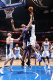 Phoenix Suns v Orlando Magic: Brandon Bass and Grant Hill Photographic Print by Andrew Bernstein
