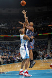 Charlotte Bobcats v New Orleans Hornets: Boris Diaw and David West Photographic Print by Layne Murdoch