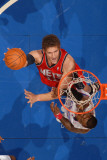 New Jersey Nets v Los Angeles Clippers: Brook Lopez and Rasual Butler Photographic Print by Noah Graham