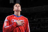 Los Angeles Clippers v Denver Nuggets: Blake Griffin Photographic Print by Garrett Ellwood