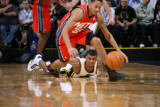 New Jersey Nets v Utah Jazz: Devin Harris and Ronnie Price Photographic Print by Melissa Majchrzak