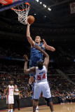 Washington Wizards v Detroit Pistons: JaVale McGee and Jason Maxiell Photographic Print by Allen Einstein