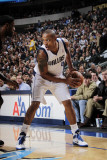 Miami Heat v Dallas Mavericks: Caron Butler and LeBron James Photographic Print by Glenn James