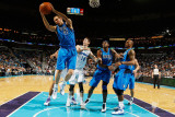 Dallas Mavericks v New Orleans Hornets: Dirk Nowitzki Photographic Print by Chris Graythen