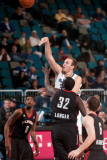 Utah Flash v Reno Bighorns: Nick Fazekas, Oriene Greene, Longar Longar and Kevin Kruger Photographic Print by David Calvert
