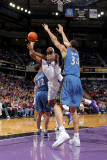 Washington Wizards v Sacramento Kings: DeMarcus Cousins and JaVale McGee Photographic Print by Rocky Widner