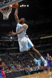Detroit Pistons v New Orleans Hornets: Quincy Pondexter Photographic Print by Layne Murdoch