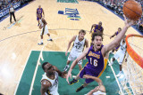 Los Angeles Lakers v Utah Jazz: Pau Gasol Photographic Print by Melissa Majchrzak