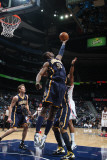Indiana Pacers v Atlanta Hawks: Roy Hibbert Photographic Print by Scott Cunningham