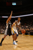San Antonio Spurs v Golden State Warriors: Monta Ellis Photographic Print by Jed Jacobsohn