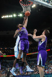 Sacramento Kings v New Orleans Hornets: DeMarcus Cousins Photographic Print by Chris Graythen