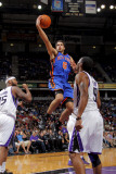 New York Knicks v Sacramento Kings: Landry Fields Photographic Print by Rocky Widner