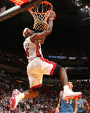 Washington Wizards v Miami Heat: LeBron James Fotografie-Druck von Victor Baldizon