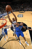 Dallas Mavericks v San Antonio Spurs: Richard Jefferson and Shawn Marion Photographic Print by D. Clarke Evans