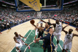 Indiana Pacers v Utah Jazz: Danny Granger Photographic Print by Melissa Majchrzak