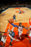 Minnesota Timberwolves v New York Knicks: Amar'e Stoudemire and Kevin Love Photographic Print by Jesse D. Garrabrant