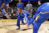 New York Knicks v Golden State Warriors: Monta Ellis Photographic Print by Rocky Widner