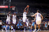 New Orleans Hornets v Sacramento Kings: Carl Landry Photographic Print by Rocky Widner