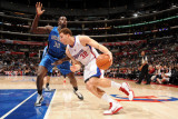 Orlando Magic v Los Angeles Clippers: Blake Griffin and Brandon Bass Photographic Print by Noah Graham