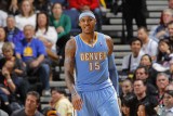 Denver Nuggets v Golden State Warriors: Carmelo Anthony Photographic Print by Rocky Widner
