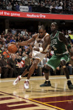 Boston Celtics v Cleveland Cavaliers: Antawn Jamison and Kevin Garnett Photographic Print by David Liam Kyle