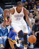 Golden State Warriors v Oklahoma City Thunder: Kevin Durant Photographic Print by Layne Murdoch