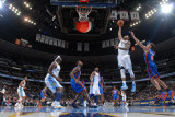 New York Knicks v Denver Nuggets: Gary Forbes and Danilo Gallinari Photographic Print by Garrett Ellwood