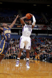 Indiana Pacers v Sacramento Kings: Tyreke Evans and Darren Collison Photographic Print by Rocky Widner