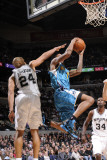 New Orleans Hornets v San Antonio Spurs: Trevor Ariza and Richard Jefferson Photographic Print by D. Clarke Evans