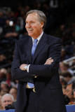 New York Knicks v Golden State Warriors: Mike D&#39;Antoni Photographic Print by Rocky Widner