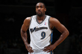 Memphis Grizzlies v Washington Wizards: Gilbert Arenas Photographic Print by Ned Dishman