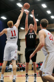 Utah Flash v Bakersfield Jam: Lance Allred, Drew Naymick and Luke Zeller Photographic Print by Juan Ocampo
