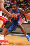 Detroit Pistons v Miami Heat: Will Bynum Photographic Print by Victor Baldizon