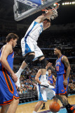 New York Knicks v New Orleans Hornets: Jason Smith Photographic Print by Layne Murdoch