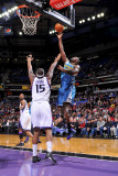 New Orleans Hornets v Sacramento Kings: Emeka Okafor and DeMarcus Cousins Photographic Print by Rocky Widner