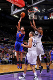 New York Knicks v Sacramento Kings: Danilo Gallinari and Carl Landry Photographic Print by Rocky Widner
