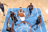 Memphis Grizzlies v Denver Nuggets: Carmelo Anthony Photographic Print by Garrett Ellwood