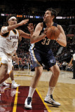 Memphis Grizzlies v Cleveland Cavaliers: Marc Gasol and Anderson Varejao Photographic Print by David Liam Kyle